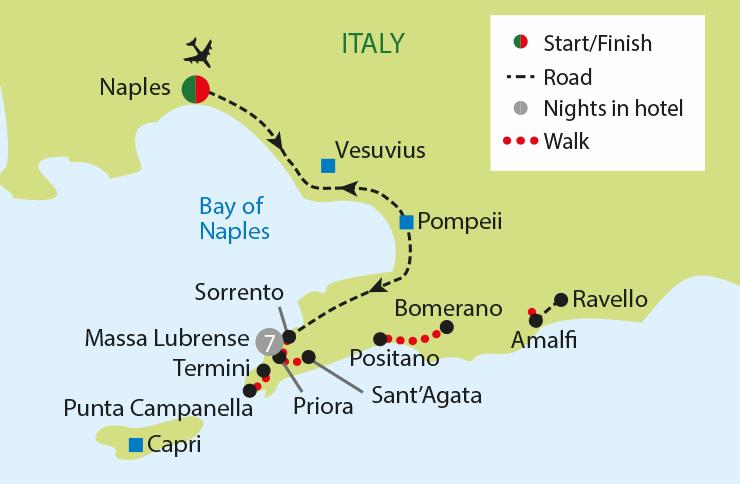 Walking The Amalfi Coast Just You Canada